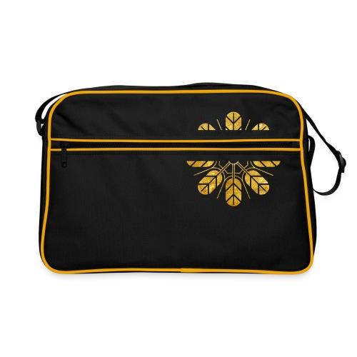 Inoue clan kamon in gold - Retro Bag