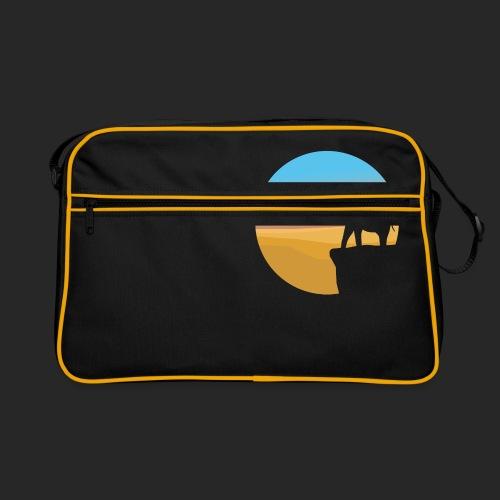 Sunset Elephant - Retro Bag