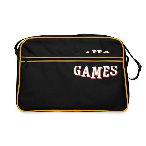 Pause Games Text - Retro Bag