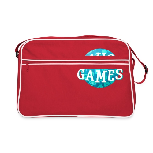 Pause Games New Design Blue - Retro Bag