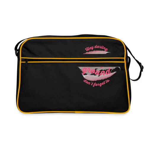 Do not forget to stand your ground - Retro Bag