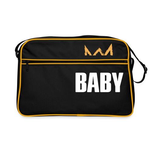 Baby mit Krone - Retro Tasche