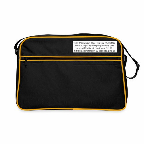 FitnessGram pacer Test - Retro Bag