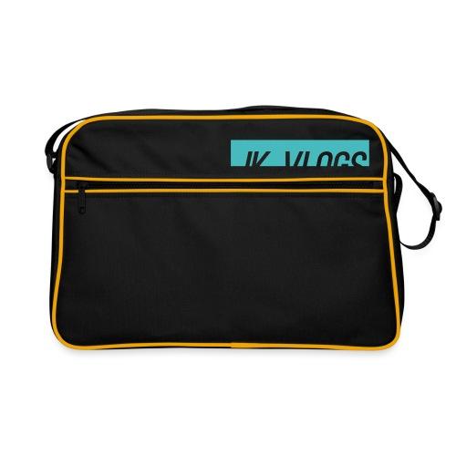 JK Vlogs Logo 2 - Retro Bag