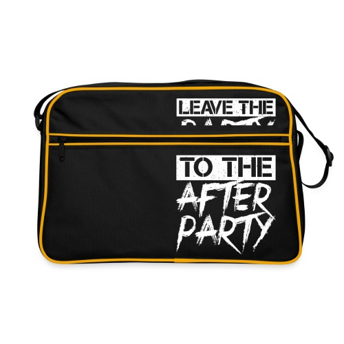 AFTER PARTY WHITE - Retro-tas