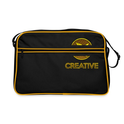 Creative logo shirt - Retro taske
