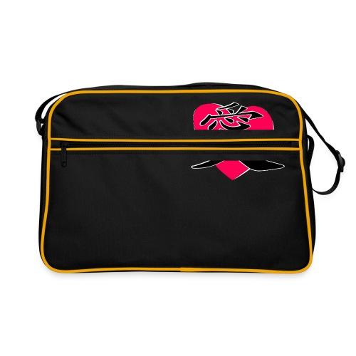 kanji love - Retro Bag