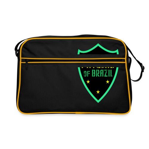 FAVELAS OF BRAZIL NOIR VERT DESIGN - Sac Retro