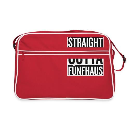 Straight Outta Fünfhaus - Retro Tasche