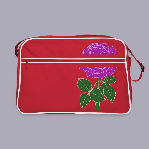 Landryn Design - Pink rose - Retro Bag