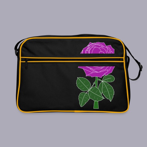 Landryn Design - Pink rose - Retro Bag