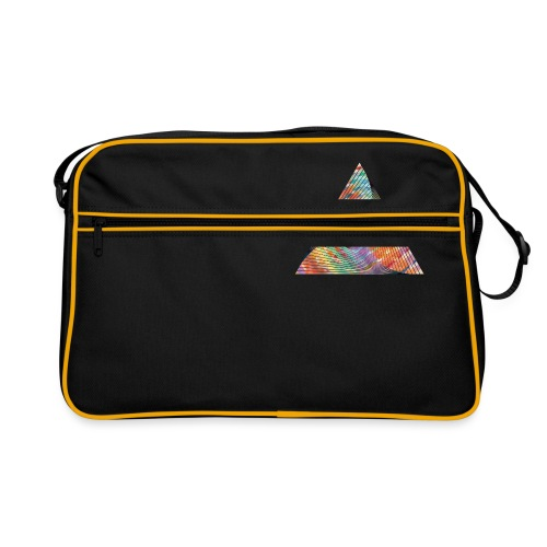 Triangle of twisted color - Retro Bag