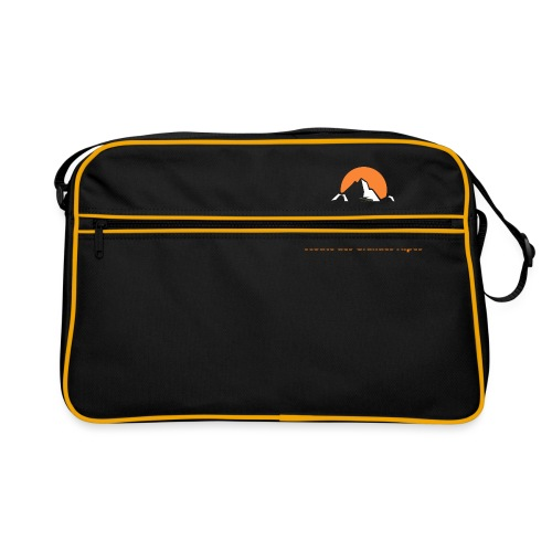 logo motofree orange - Sac Retro
