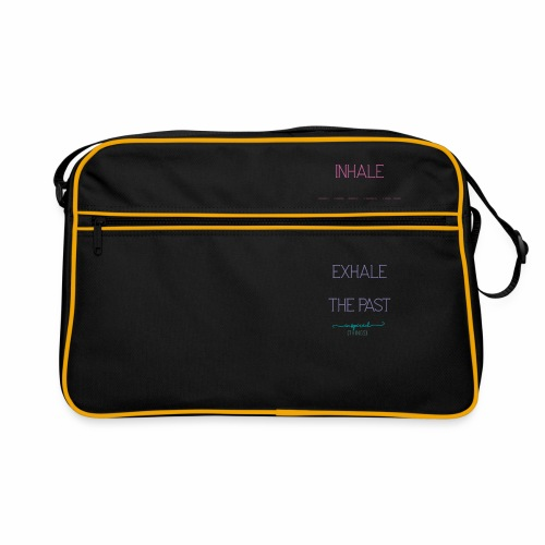 Inhale the Future and Exhale the Past - Retro Bag