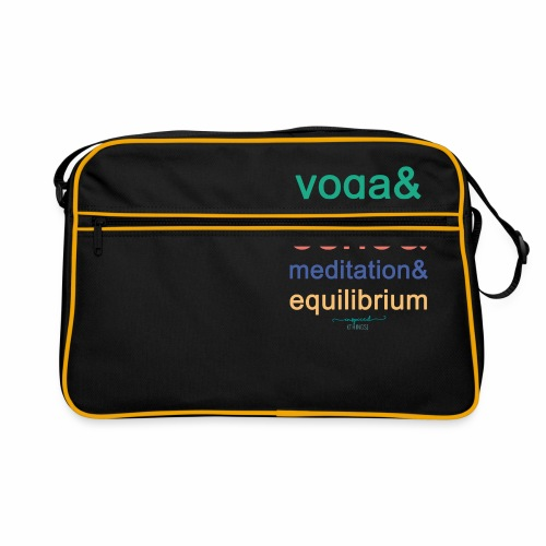 Yoga& Osho& Meditation& Equilibrium - Retro Bag