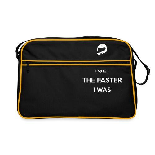 The Older I Get The Faster I Was - Retro Bag