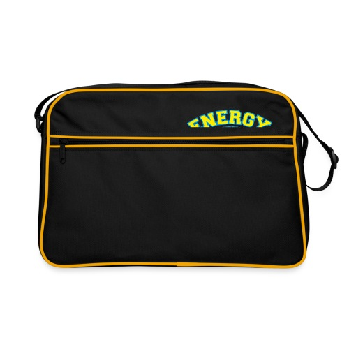 street wear logo giallo energy basketball - Borsa retrò