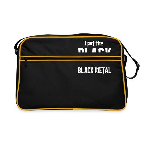 I put the BLACK in BLACK METAL - Retrolaukku