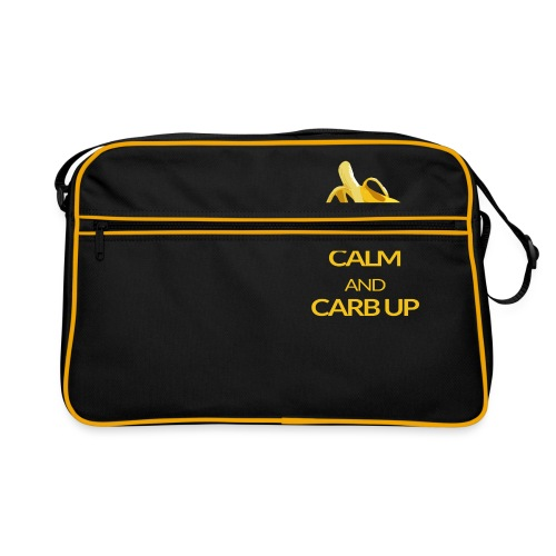 KEEP CALM and CARB UP - Retro Tasche