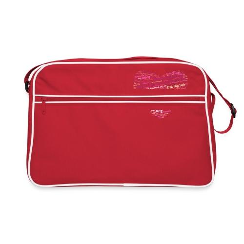 Hjerte - Retro taske