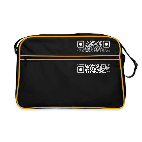 QR Safenetforum White - Retro Bag