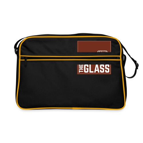 Grabtheglass LOGO - Retro Tasche