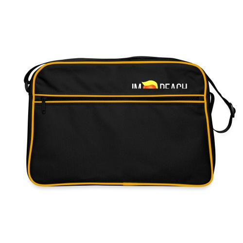 IMPEACH / Light Unisex Hoodie Sweat - Retro Bag