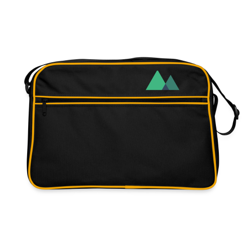 Mountain Logo - Retro Bag