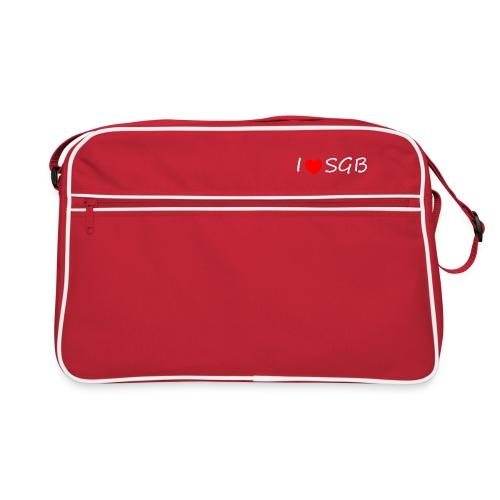 I ❤️ SGB #DAHOAM - Retro Tasche