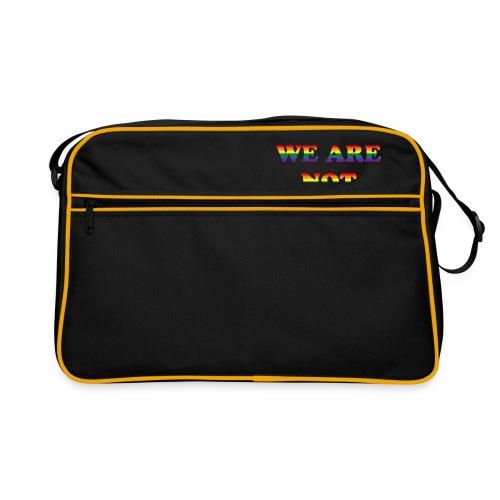 We are not afraid - Retro Bag