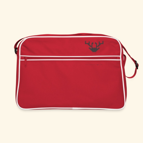 PIXELHIRSCH - Logo - Retro Tasche