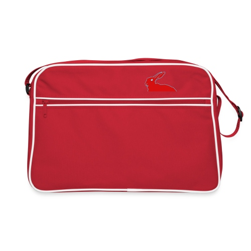 Roter Hase - Retro Tasche