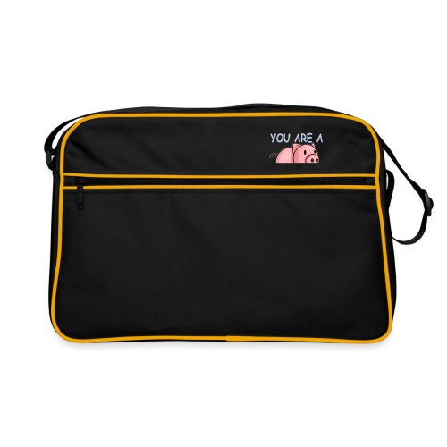 YOU ARE A PIG! T-SHIRT - Retro Bag