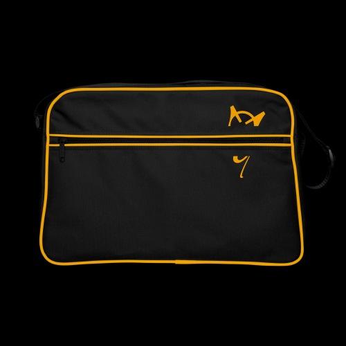 Overscoped logo yellow - Retro Bag