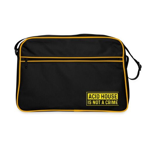 Acid House is not a crime - Retro Bag