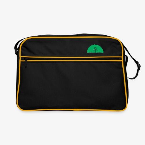 Histamin-Pirat Superheld (grün) - Retro Tasche