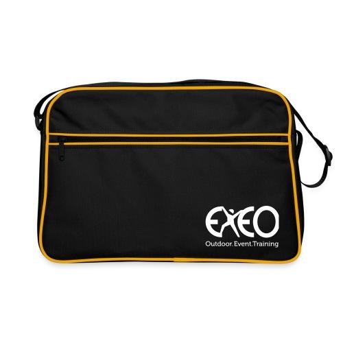 EXEO Logo rot Claim - Retro Tasche