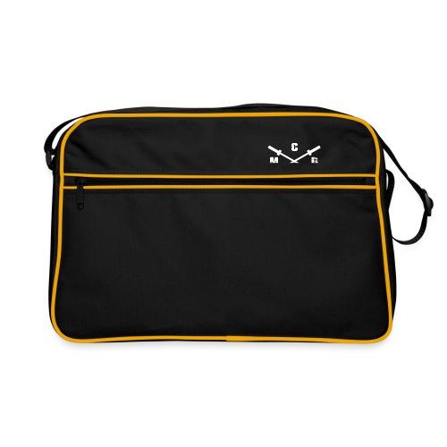 Snapback Cap mit hellem Logo- Druck an der rechten - Retro Tasche