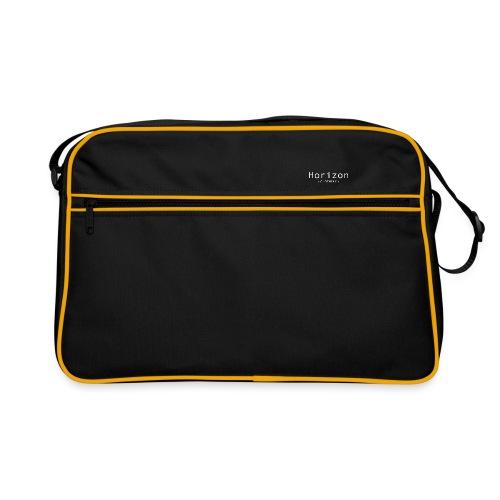 White Horizon Logo - Retro Bag