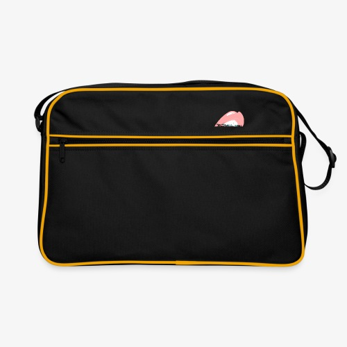 With Pleasure Mouth Logo - Retro Bag