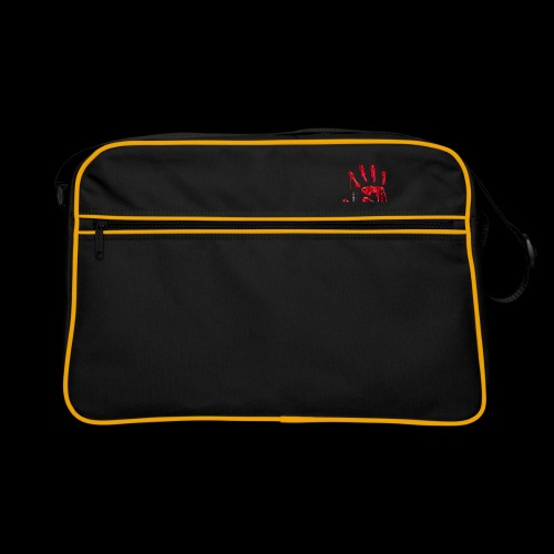 Promote Horror Blood-Soaked Hand - Retro Bag