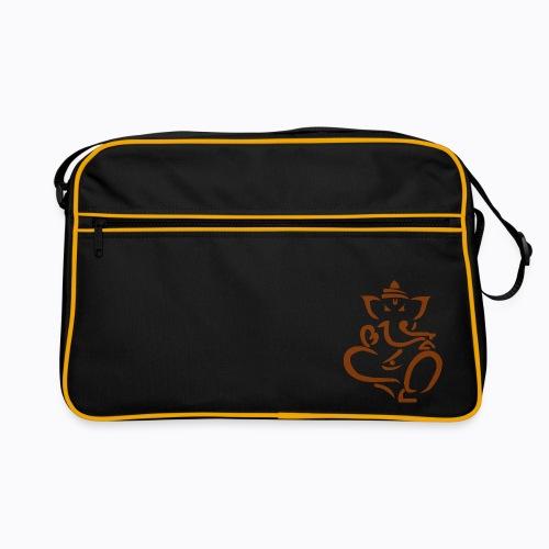 ganesha elephant - Retro Bag