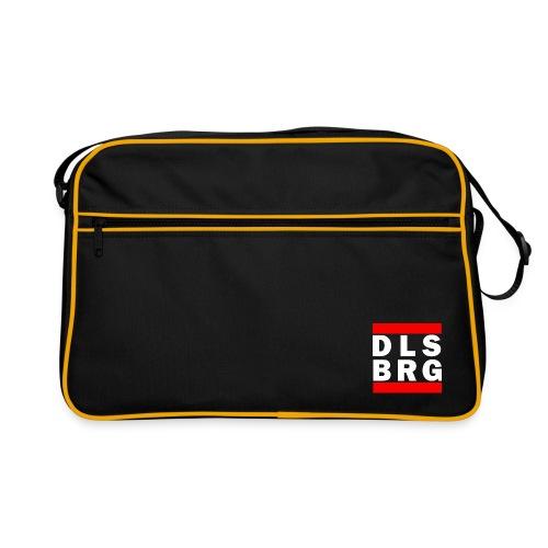 DLSBRG transparent weiss png - Retro Tasche