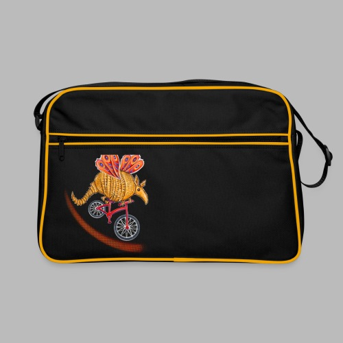 Flying Armadillo - Retro Bag