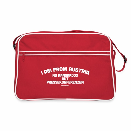 Pressekonferenzen - Retro Tasche