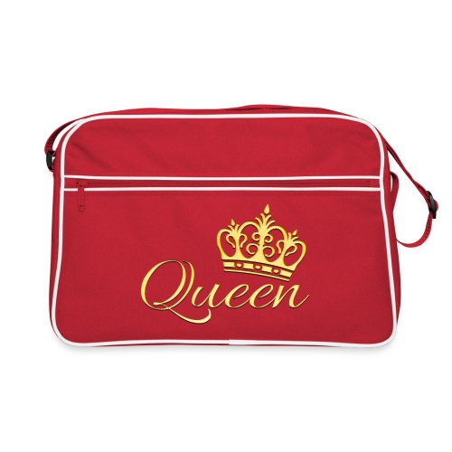 Queen Or -by- T-shirt chic et choc - Sac Retro