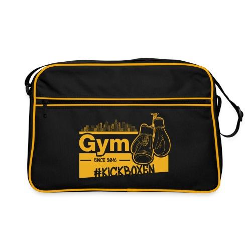 Gym Druckfarbe Orange - Retro Tasche