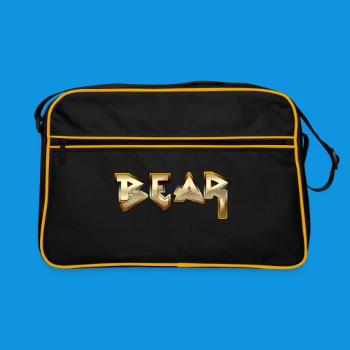Metal Bear Retro Bag - Retro Bag