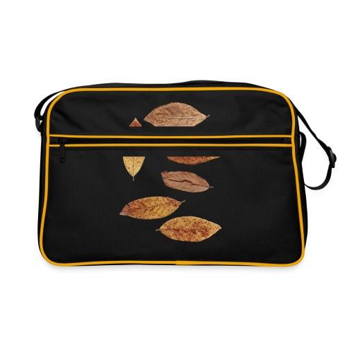 Bunte Blätter - Retro Tasche