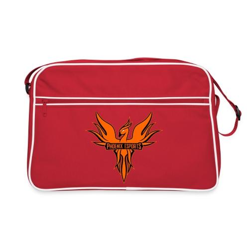 Phoenix Mascot 3Farben - Retro Tasche
